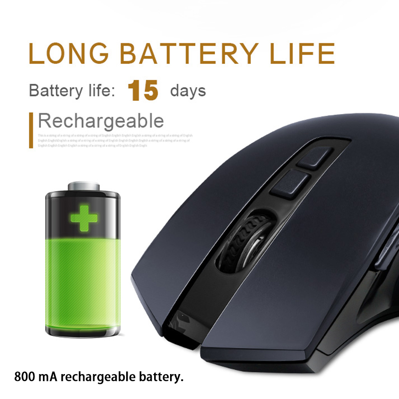 Smart Voice Mouse 2.4 Wireless Computer Lazy Ergonomics Rechargable USB Receiver Automatic Type Translate Speech Recognition