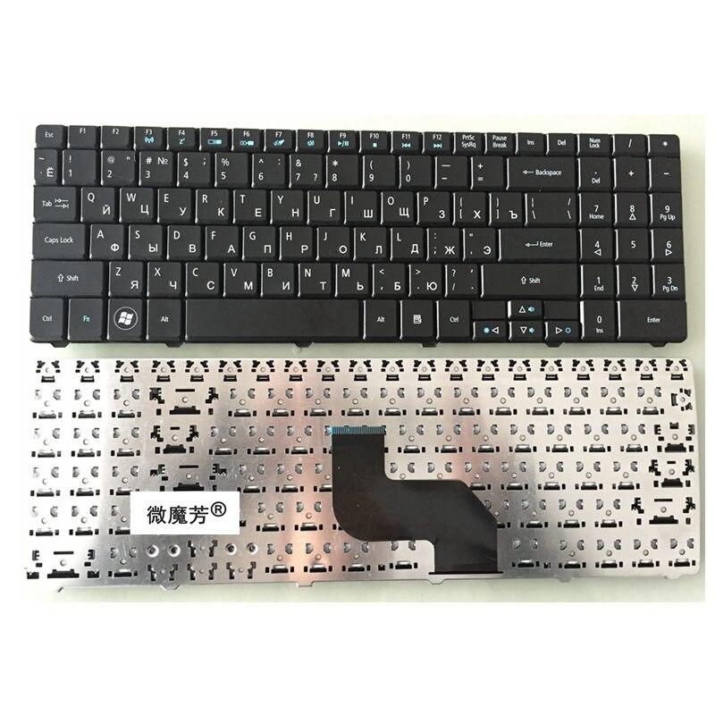 Teclado do laptop russa para ACER Aspire 5516 5517 5332 5532 5534 5732 5732Z 5732ZG 7713 7715 MP-08G63SU-528 RU