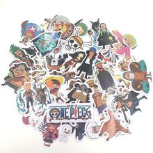 One Piece Stickers Pvc Waterproof 42pcs