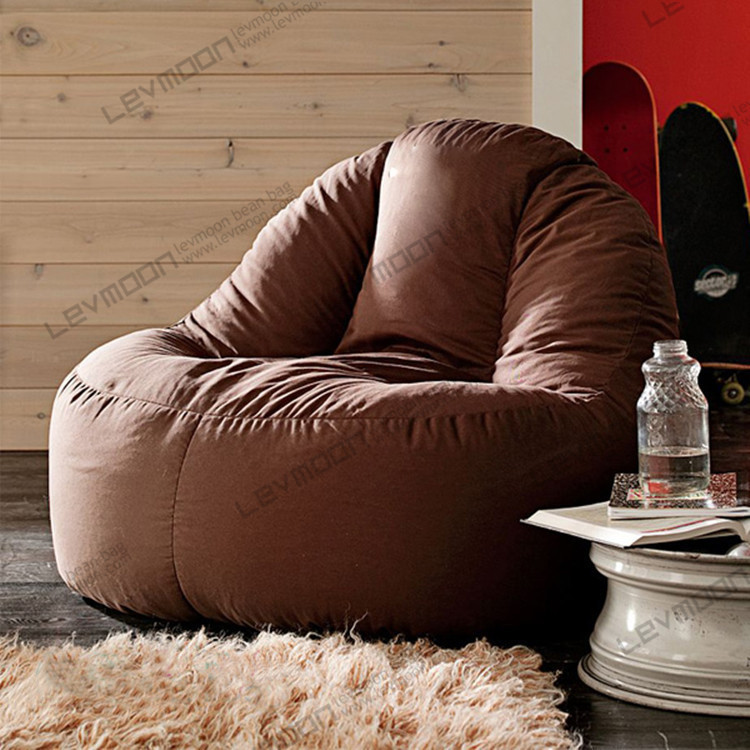 FREE SHIPPING coffee bean bag chairs for adults 100CM ...