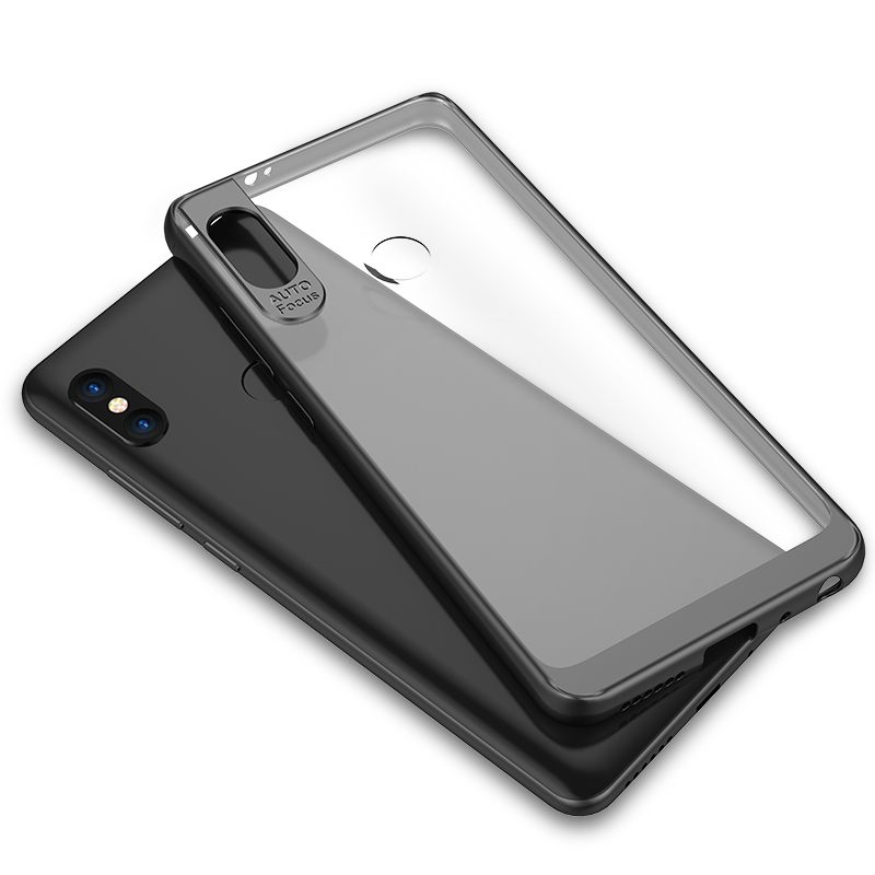 info for d7d99 d6b7f US $4.99 |Xiaomi Redmi Note 5 Pro Case Cover Silicone+Transparent Hard PC  Back Cover for Xiaomi Redmi Note5 5Pro Protector Phone Coque 5.9-in Fitted  ...