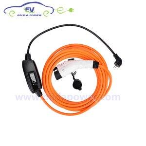 Image 3 - DUOSIDA Type 1 J1772 Plug EVSE 5M 10Meter 16Amp Level 2 EV Charger With EU Schuko