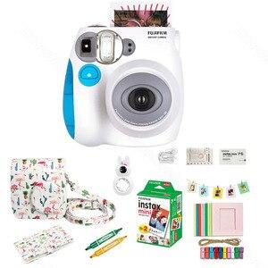 Image 3 - Fujifilm Instax Mini 7s Film natychmiastowy kamera i zestaw akcesoriów, w tym Mini Film, etui, Album fotograficzny, soczewki zbliżeniowe Selfie ect.
