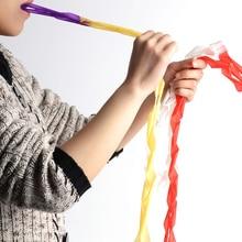 12 шт./компл. фокусы Мульти-Цвет Белый рот катушки Бумага растяжки изо рта для фокусов волшебника блоки игрушки