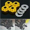 (4 peças/set) HSP RC Car 1:10 (12 MM) para 1:8 (17 MM) Roda Hexágono conexão Conexão Hexágono