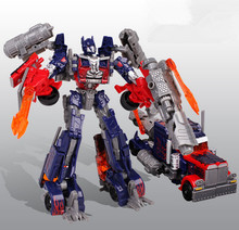 Kids Brinquedos Transformation 4 Toys Robot Car Anime Action Figure Class Juguetes Christmas Boys Gift