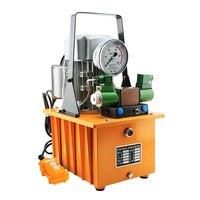 8L Double Action Electric Hydraulic Pump High Pressure GYB 700AII Tank capacity hydraulic Motor Oil pump 220V 1400r/min 750W