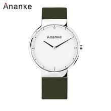 2019 Ananke Fashion Simplicity Watch Men Waterproof Clock Creative Color Top Brand Luxury Sport Quartz Mens Watches Multicolor