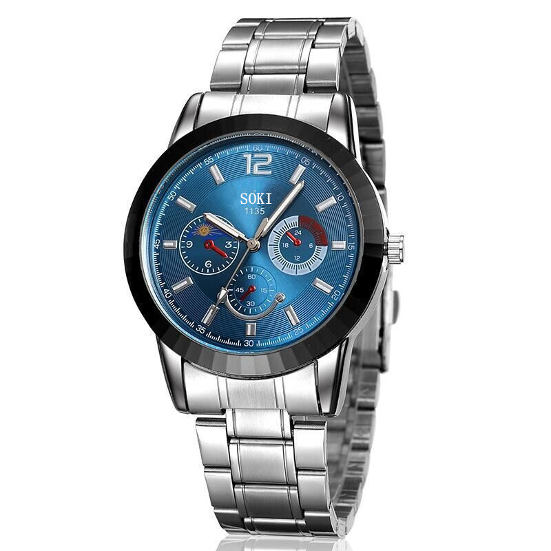 Watch male and female students han version of the original concept of the original concept quartz watch. point systems migration policy and international students flow
