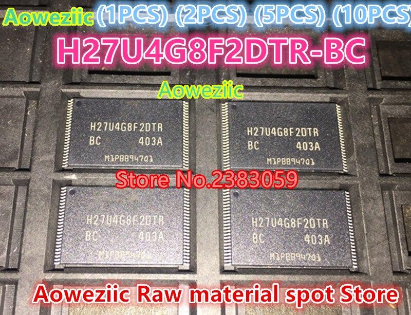 Aoweziic (1 PCS) (2 PCS) (5 PCS) (10 PCS) 100% new original H27U4G8F2DTR-BC H27U4G8F2DTR TSOP48 de stockage IC 4G