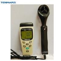 TENMARS Air Скорость тестер Температура и измеритель влажности tm402