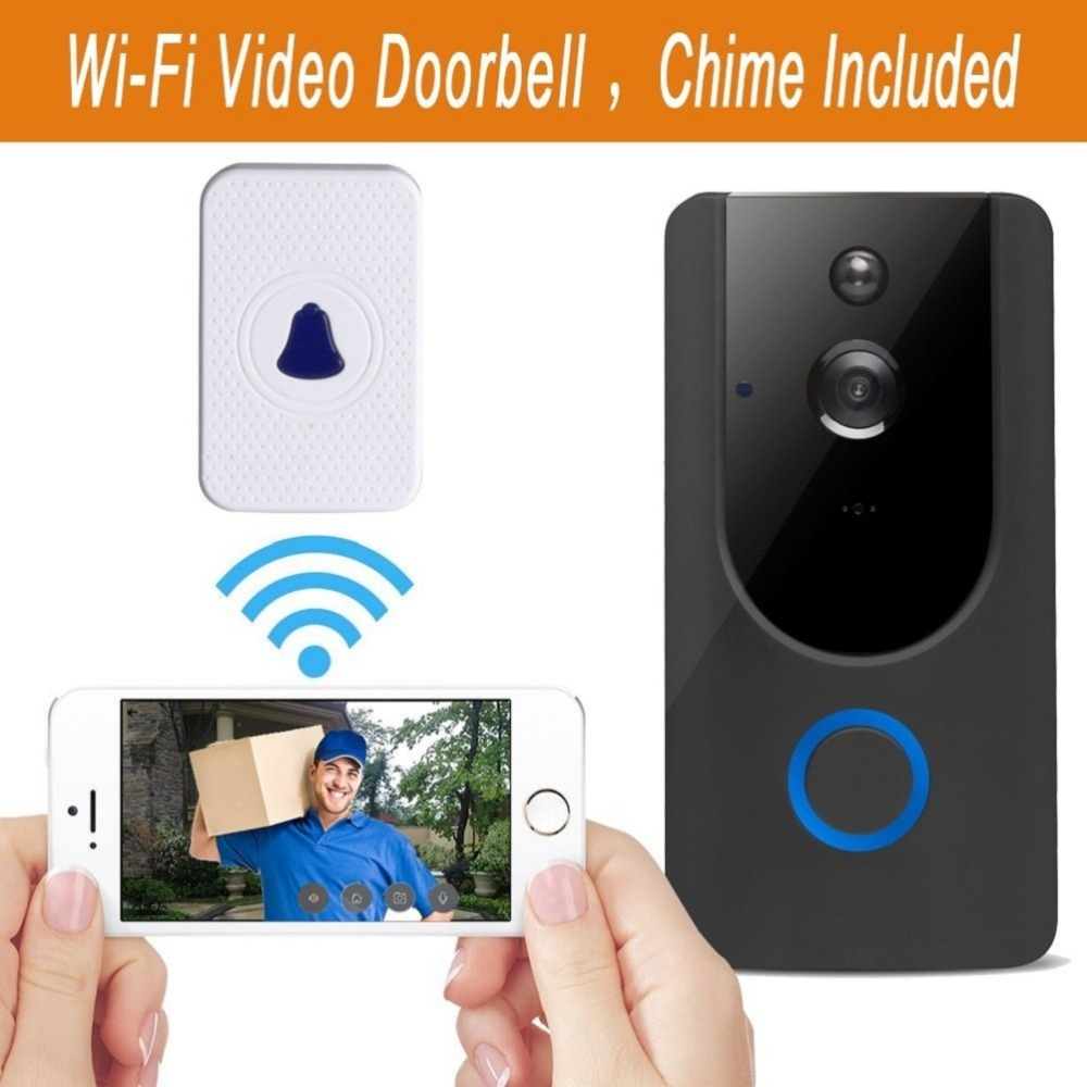 doorbell camera with chime