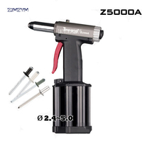 Z5000A Commercial Pneumatic Rivet Gun Hydraulic Riveting Tool Air Riveter Power Tool For 0.5 0.7Mpa Gas pressureblind rivets