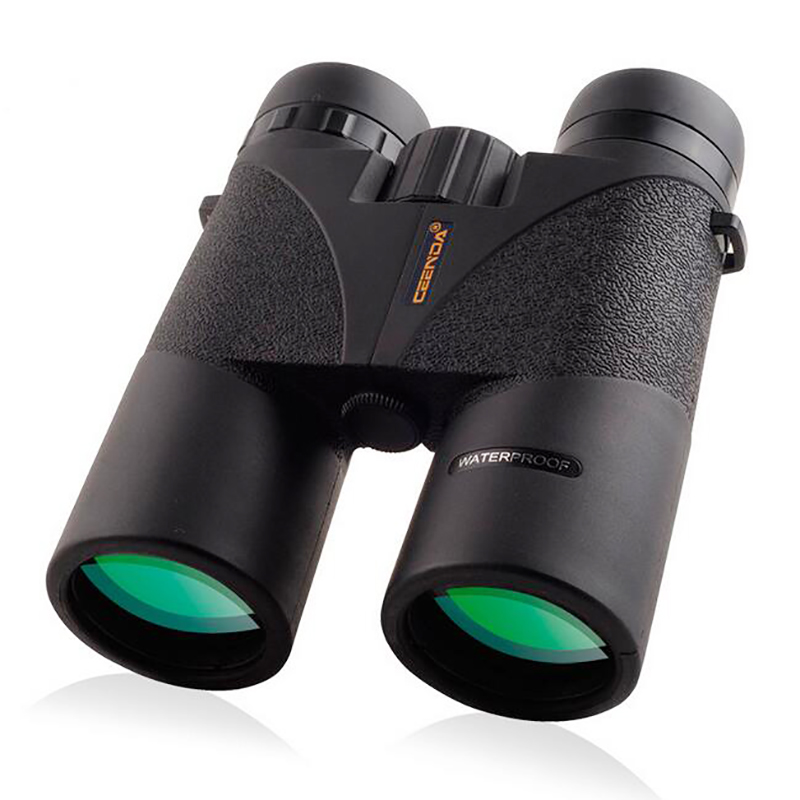 10 x 42 HD Binoculars Telescope Zoom Optic Lens Spotting Scope Binoculars Coating Lenses Night Vision Nitrogen FMC Waterproof binoculars 7x35 telescope binoculares hd high binoculo profissional low light night vision spotting scope full mental new rouya