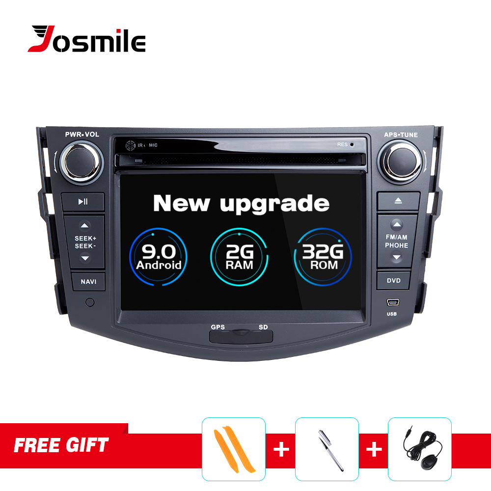Android 9 0 Car GPS Navigation For TOYOTA RAV4 2006 2012 DVD Player Support Video Wifi