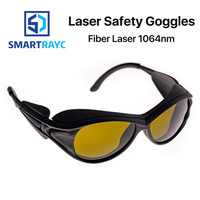 Smartrayc 1064nm Laser Safety Goggles 850 1300nm OD4+ CE Protective Goggles For Fiber Laser Style A