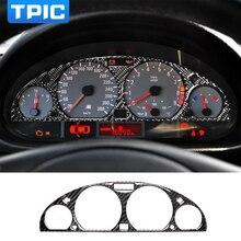 TPIC innen Carbon Fiber Car Dashboard Instrument Panel Bildschirm Schutz Trim aufkleber Auto Styling Für BMW E46 M3 1998  2005