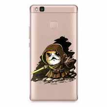 Star Wars The Last Jedi Porgs Soft TPU Silicone Case For Huawei P8 P9 Lite 2017 P10 Plus P10 Lite Mate 10 Nova 2 Honor 6C Pro