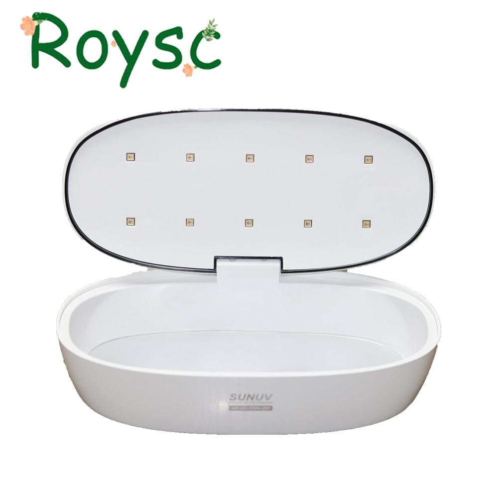 SUNUV UV Sterilizer Box Beauty Tools Sterilizer Storage Box S1 Portable Disinfection Box for Salon Nail Art Tools