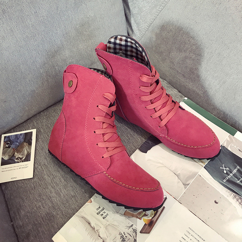 Light Grande Rojo Plano Moda Primavera Tobillo 2018 Botas negro Con Hasta Talla Flock Khaki Mujeres De Zapatos Casuales rojo Otoño 96yhu El verde Negro Encaje HZvTnTq