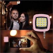 Селфи вспышкой фотография нескольких светодиодной синхронизации ios android телефона поддержка камеры
