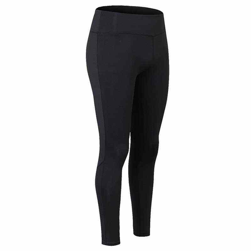 Las mujeres comprimir Fitness entrenamiento mallas para otoño cintura alta deportiva culturismo Gymming corre pantalón de invierno Yogaing ropa 2089