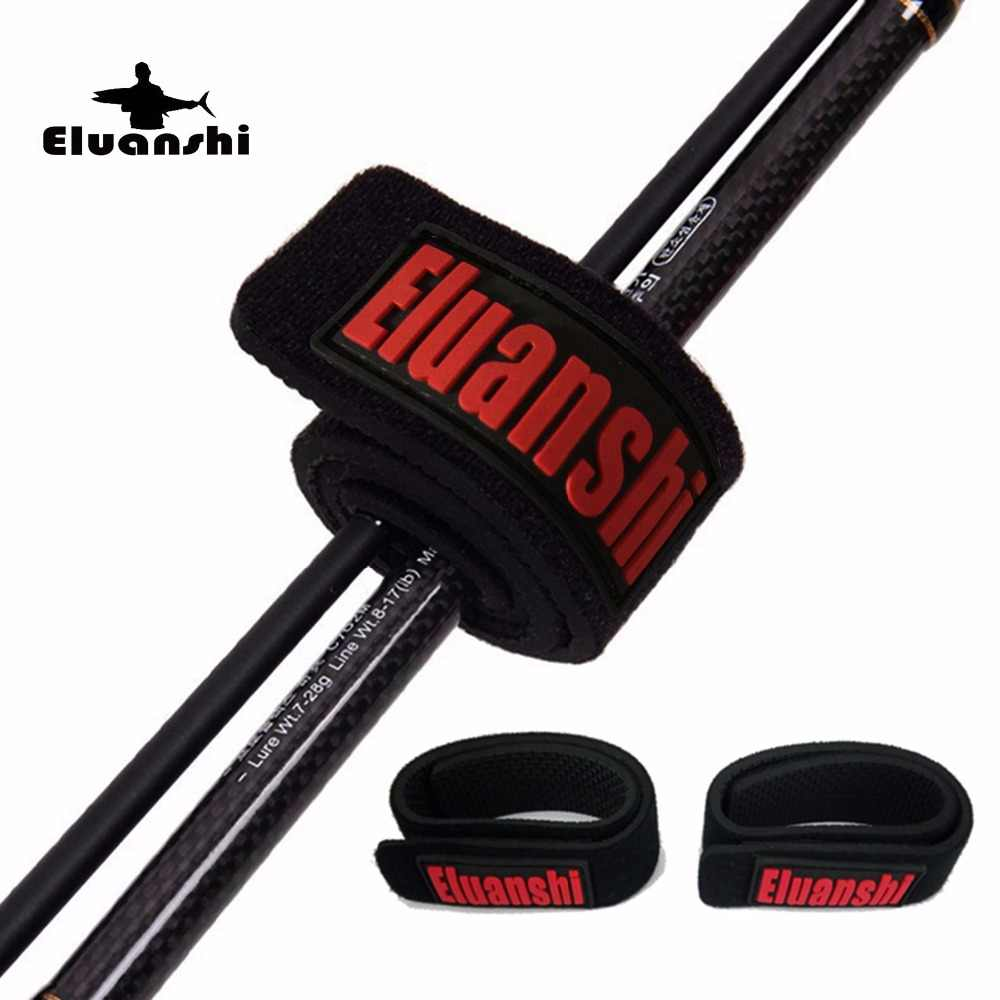 4 pieces Eluanshi Lure Belt Strap Rod combo platform reel Tie Suspenders rope Accessories carp for ice Fishing box Tackle pesca