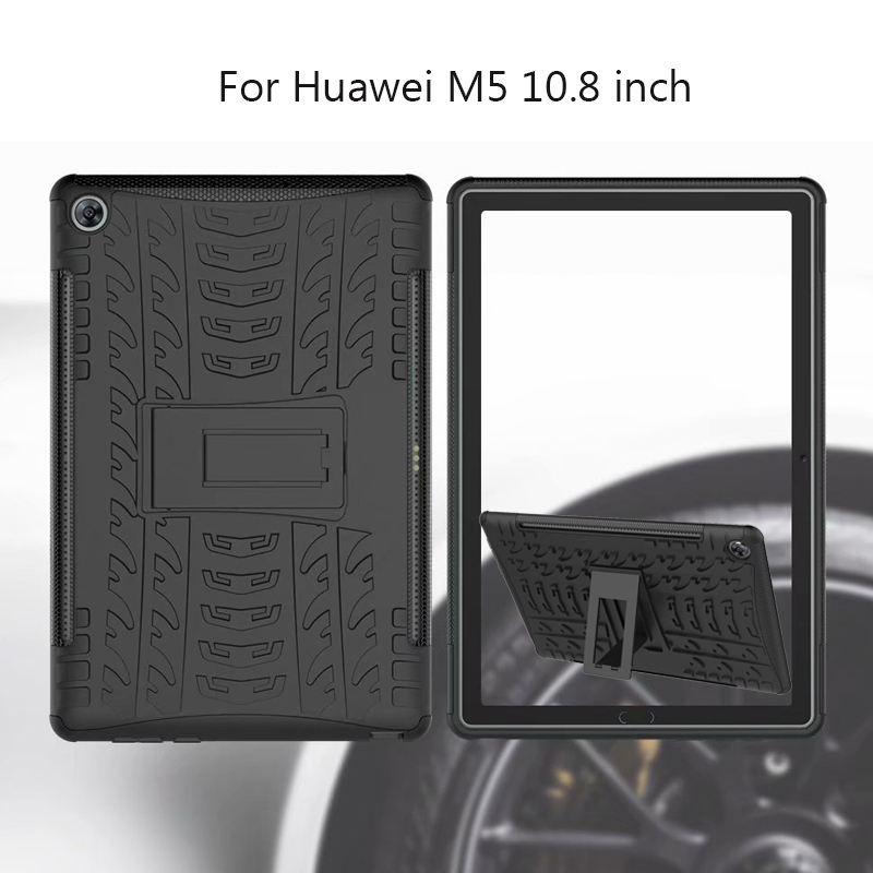 Anti-Knock Cover For Huawei Mediapad M5 10(PRO) CMR-AL09/CMR-W09 Case Armor Kickstand Silicone Cover For Huawei M5 10.8 Inch