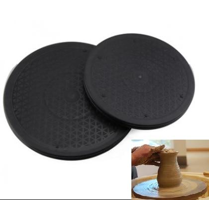 Rotating Turntable Pottery 25/30cm Black Wheel Round ...