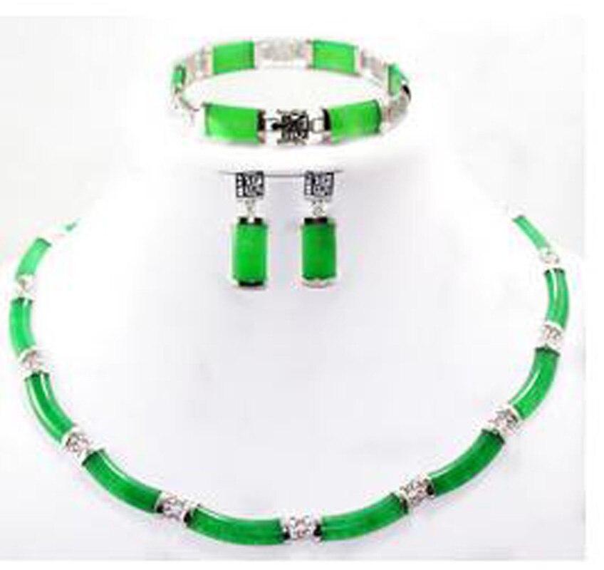 2 colors! Women's colorful/green/purple/red -black necklace bracelet earrings AA265 цена