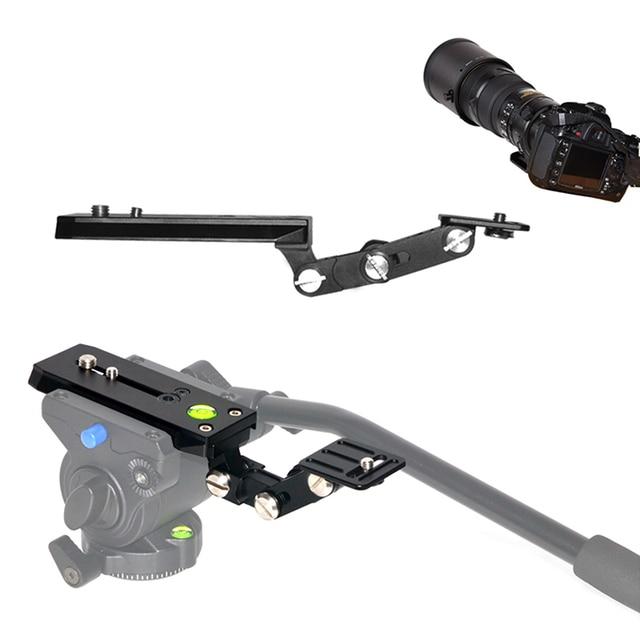 Telephoto Lens Long Focus Holder Support Bracket Kit 120Mm Qr Base Plate For Bird Watching Slr Camera Manfrotto Tripod 1