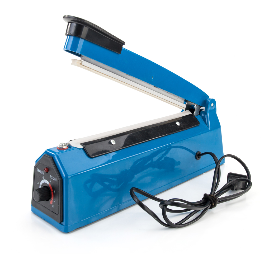 Impulse-Sealer Seal-Packing Heat-Sealing-Machine Plastic-Bag 110V Poly-Element 8-12-