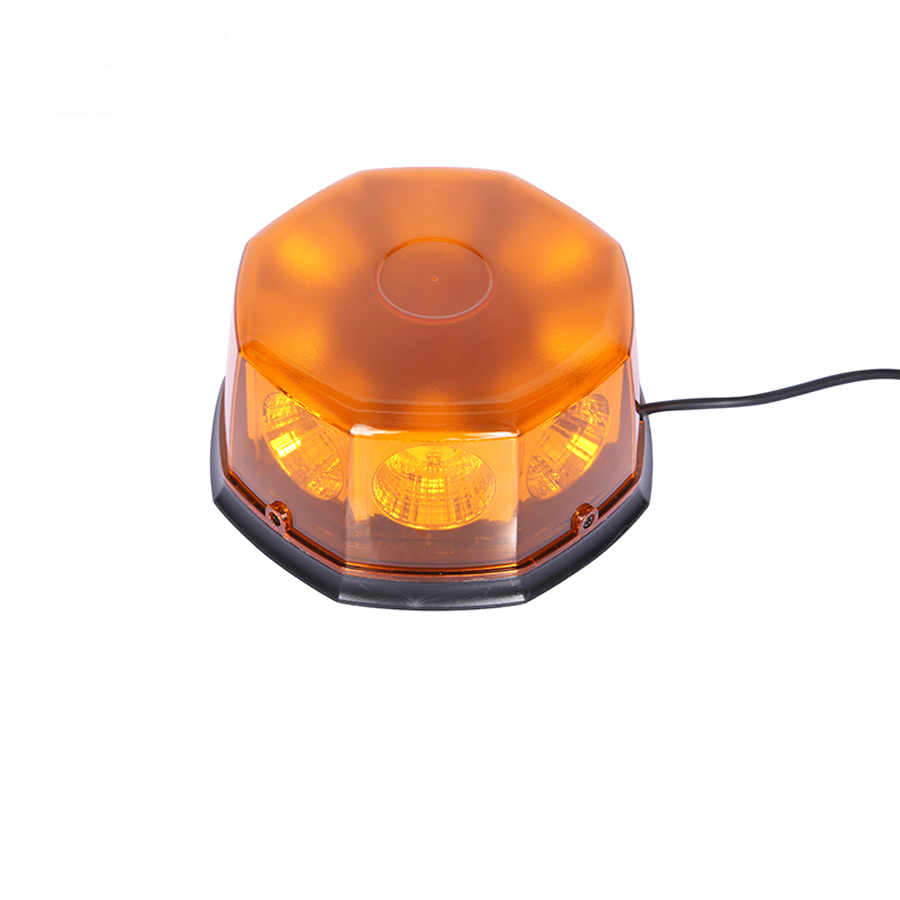 8 LED 12 Flashing Mode Car Auto Beacon Lights Emergency Hazard Police Warning Strobe Light w/ Strong Magnetic Base Amber Red New dc12v 24v 5730smd 72 led car truck strobe flashing emergency light beacon rescue vehicle ambulance police warning lights lamp