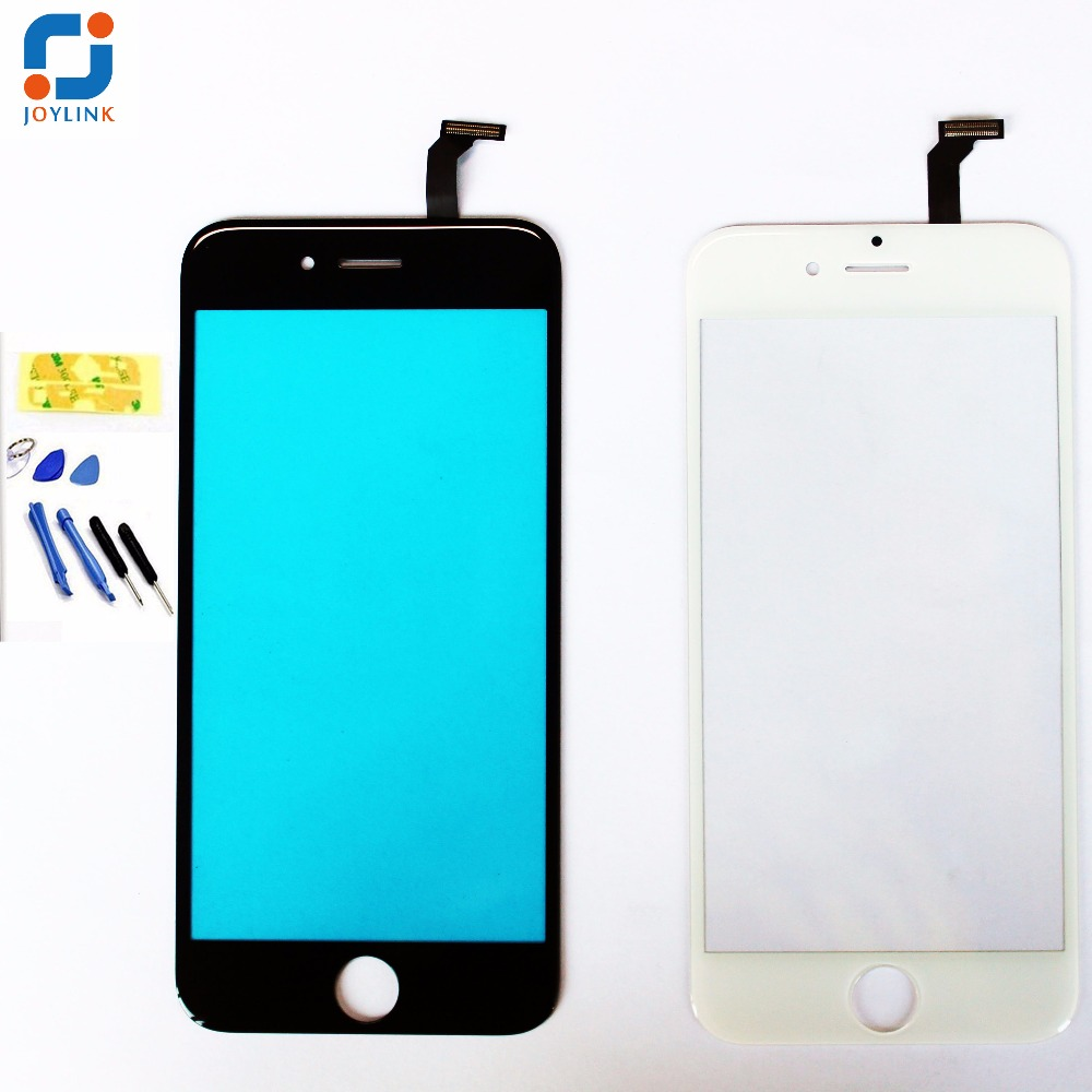 Joylink Front Lens Protector Digitizer Touch Screen Glass for iPhone 4S 5 5S 5C 5g 6 6S plus Replacement +Tool, Not include LCD