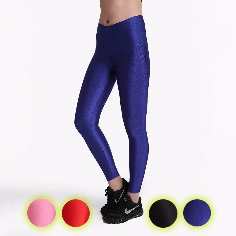 New Solid Black Fitness Sports Leggings Women Yoga Pants