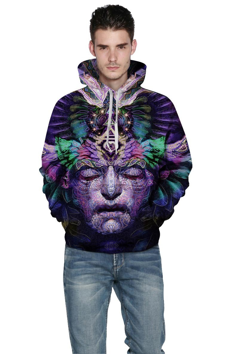 Mr.1991INC Space Galaxy Hoodeis Men/Women Hooded Hoodies With Cap 3d Sweatshirt Print Dreamlike Face Pullover Hoody Tracksuits Space Galaxy Hoodies Men/Women  Print Dreamlike Face Pullover HTB1bQU0KVXXXXb1aXXXq6xXFXXXg