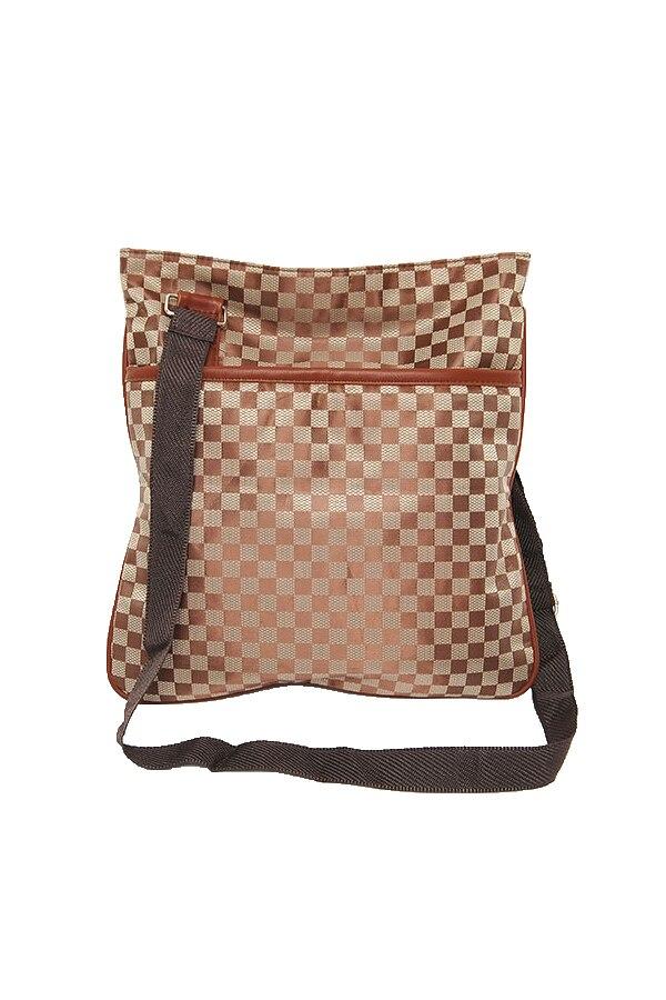 Men Casual Shoulder Viagdo Shopping Splicing Stylish Vogue Checker Plaid font b Tartan b font Vintage
