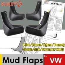 Mud Flaps For Vw Troc T Cross Jetta A7 T6 Tiguan Sharan Atlas Teramont Caddy Touareg MK1 MK2 Mudflaps Splash Guards Mudguards