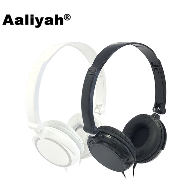 Aaliyah] S1 3.5mm Wired Headset With Microphone Stereo Big Foldable ...