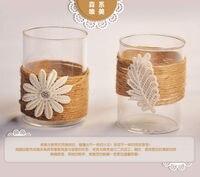 Het japanse romantische crystal patroon kandelaars woonaccessoires bruiloft decoratie trouwkaarten party decoratie kerst