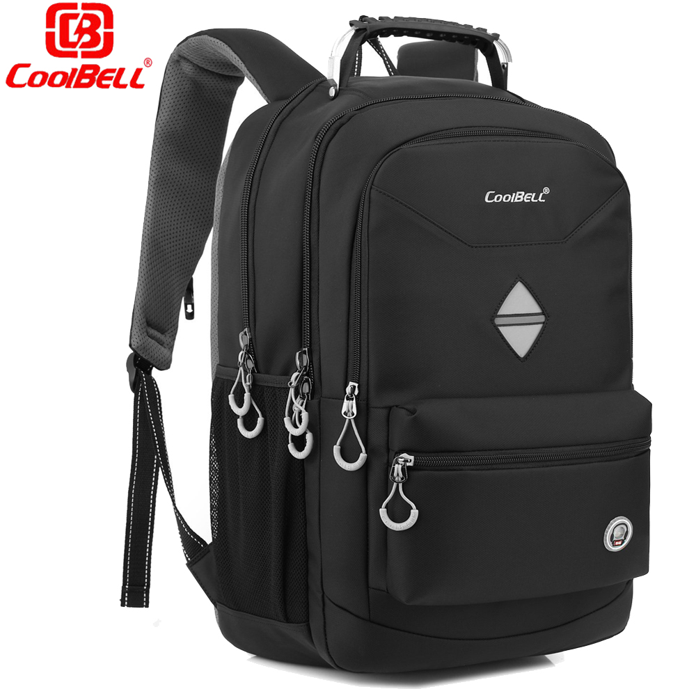 2017 Coolbell Large Capacity 17.3 17 Inch Laptop Backpack Mochila Women's Men's Backpacks Bag Business Military Army Travel Bag brand coolbell for macbook pro 15 6 inch laptop business causal backpack travel bag school backpack