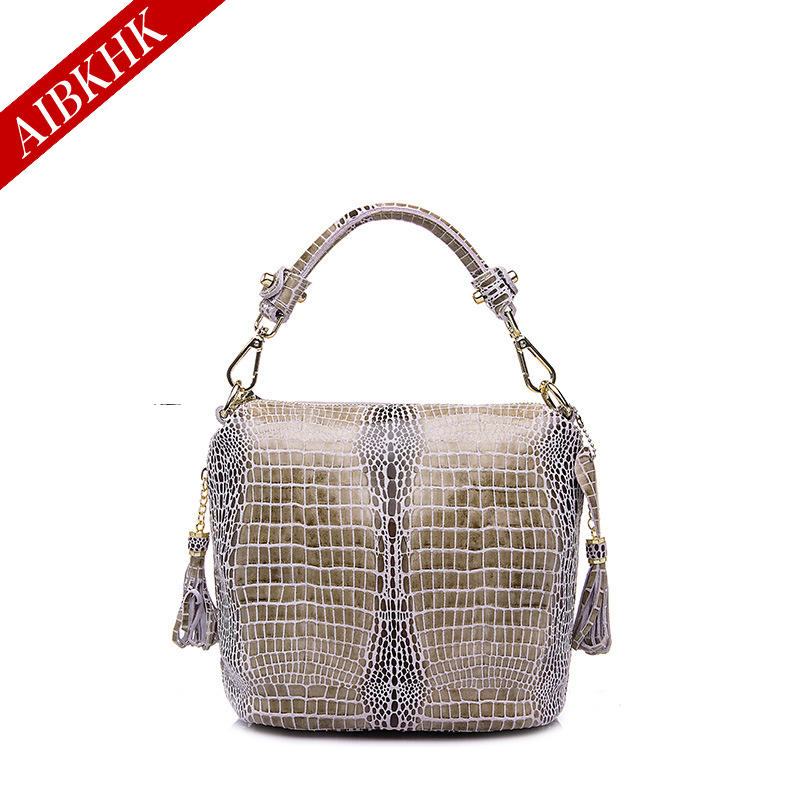 Genuine Leather New Fashion Women Handbags Ladies Shoulder Bags Female Girl Real Natural Leather High Quality Serpentine Bag 100% genuine leather women bags luxury serpentine real leather women handbag new fashion messenger shoulder bag female totes 3