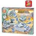 Kits de edificio modelo compatible con lego city ejército sluban 649 bloques 3d aficiones modelo educativo y juguetes de construcción para los niños