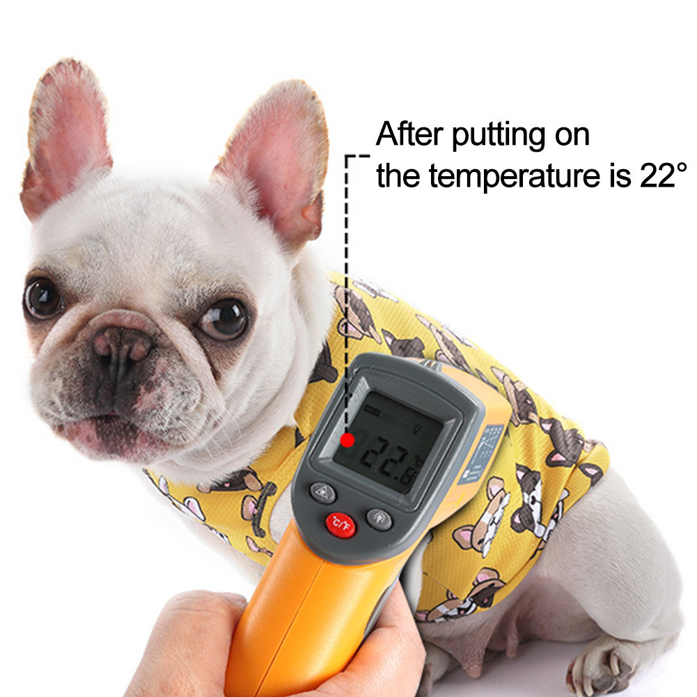 summer cooling vest for french bulldogs