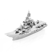 3D Metal Model Puzzle Liaoning ShipDIY Puzzle Puzzle Model Kit Adult Children Education Collection Holiday Gifts new product phoenix 1 400 11347 saudi airways a330 300 hz aqe alloy aircraft model collection model holiday gifts