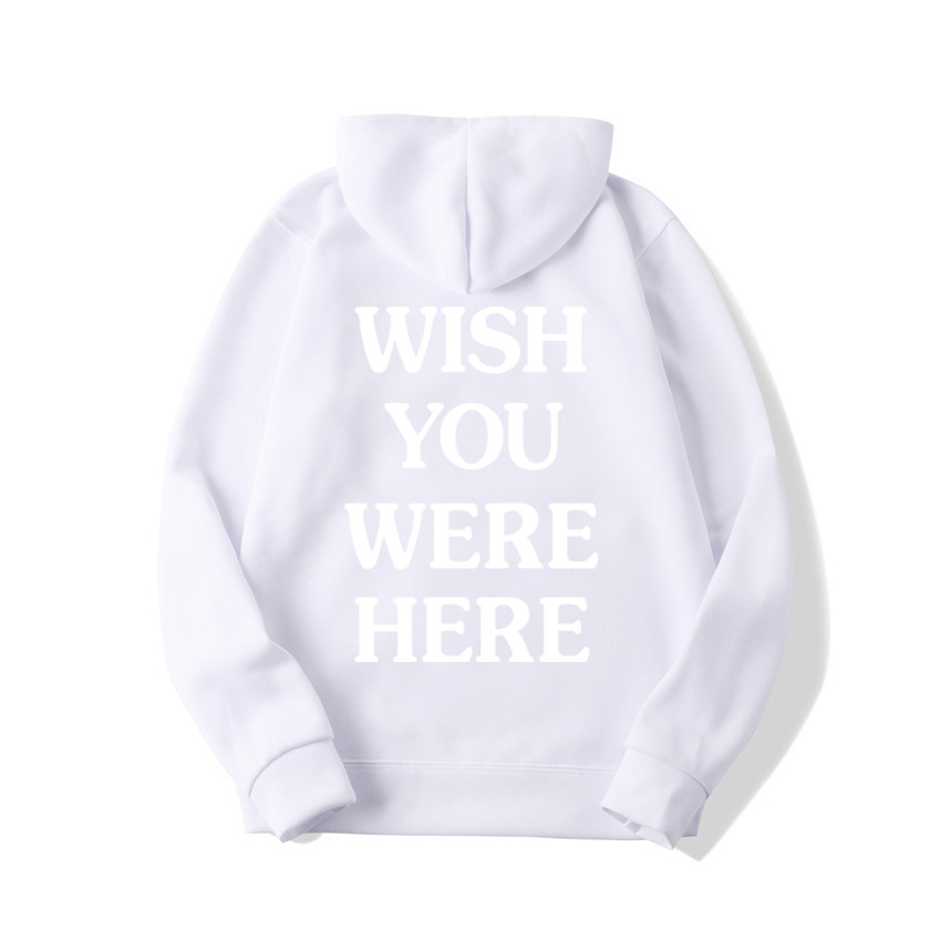 TRAVIS SCOTT ASTROWORLD WISH YOU WERE HERE HOODIES fashion letter ASTROWORLD HOODIE streetwear Man woman Pullover Sweatshirt 25