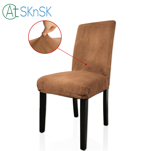 Factory Homemade Office Computer Chair Covers Universal Dining Chair Cover  Party Banquet Decoration Spandex Stretch Chair