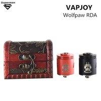 2017 Yeni gelmesi VAPJOY Wolfpaw RDA tankı atomizer 24mm Çapı 304 Paslanmaz Çelik 510 iplik Malzeme RDA e sigara buharlaştırıcı