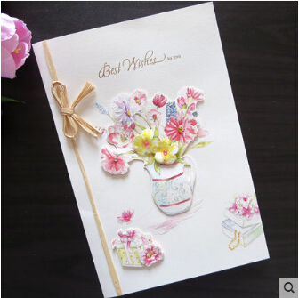 Stock handmade happy birthday greeting cards blessing cards best stock handmade happy birthday greeting cards blessing cards best wish cards 5pcslot beautiful design free shipping on aliexpress alibaba group bookmarktalkfo Images
