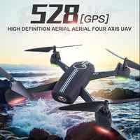 JXD528 RC Drone GPS מעקב אוטומטי Quadcopter WiFi עם 1080/720 P HD מצלמה FPV שלט רחוק Quadcopter Dron שליטה על ידי טלפון